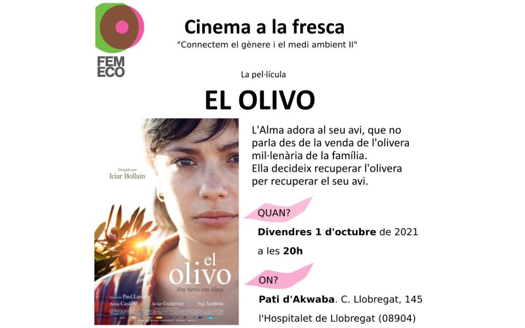 Nova edició de Cinema a la fresca amb la pel·lícula El olivo
